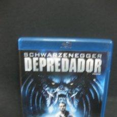 Cine: DEPREDADOR. SCHWARZENEGGER. BLU-RAY DISC + DVD + COPIA DIGITAL CON CONTENIDOS ADICIONALES.. Lote 196758500