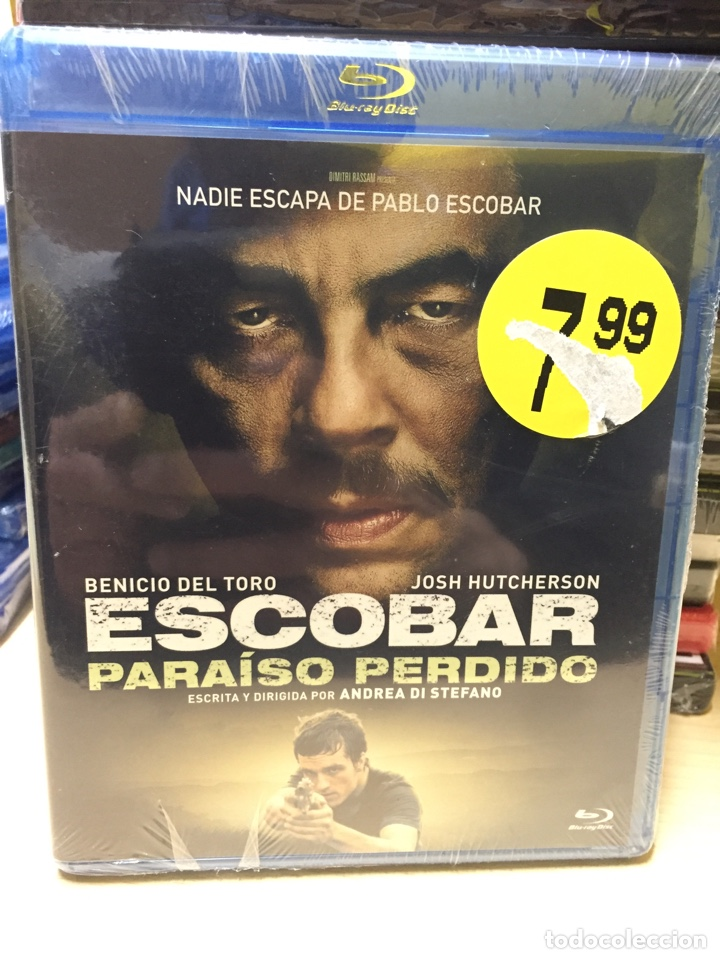 Escobar Paraíso Perdido Bluray Precintado Sold Through Direct Sale 196897427
