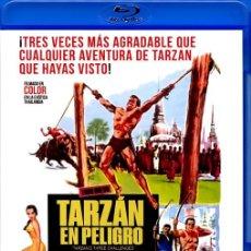 Cine: TARZAN EN PELIGRO (BLU-RAY DISC BD PRECINTADO) JOCK MAHONEY - WOODY STRODE. Lote 268893059