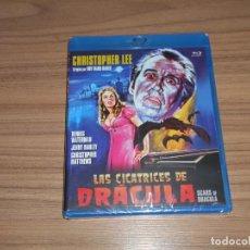 Cine: LAS CICATRICES DE DRACULA BLU-RAY DISC CHRISTOPHER LEE NUEVO PRECINTADO. Lote 278202198
