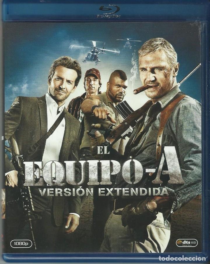 EL EQUIPO A EDICIÓN EXTENDIDA (Cine - Películas - Blu-Ray Disc)
