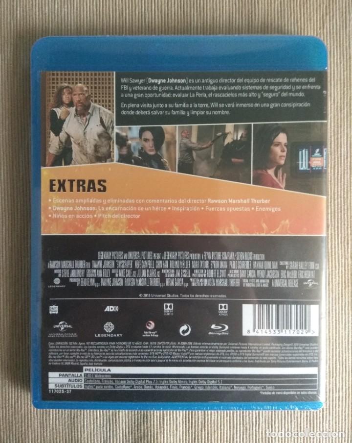 Cine: Envio incluido // Blu ray El rascacielos. - Foto 2 - 198592016