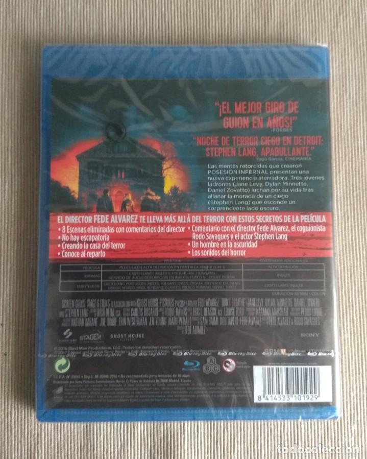 Cine: Envio incluido // Blu ray No respires. - Foto 2 - 198593816