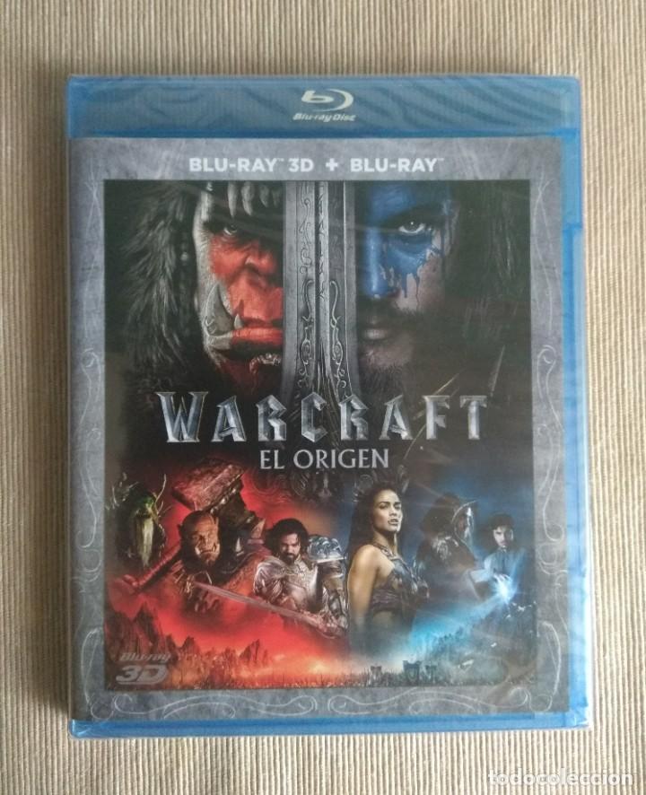 ENVIO INCLUIDO // BLU RAY WARCRAFT EL ORIGEN 2D + 3D. (Cine - Películas - Blu-Ray Disc)