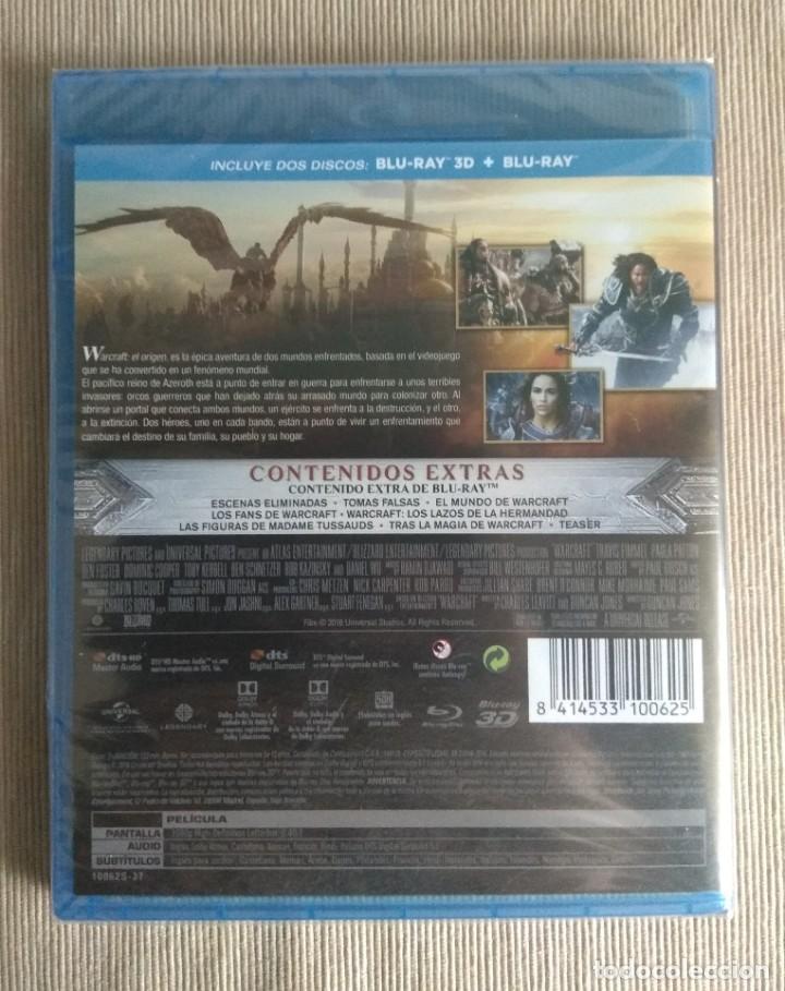 Cine: Envio incluido // Blu ray Warcraft el origen 2D + 3D. - Foto 2 - 198594558