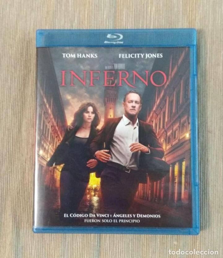 ENVIO INCLUIDO // BLU RAY INFERNO. (Cine - Películas - Blu-Ray Disc)