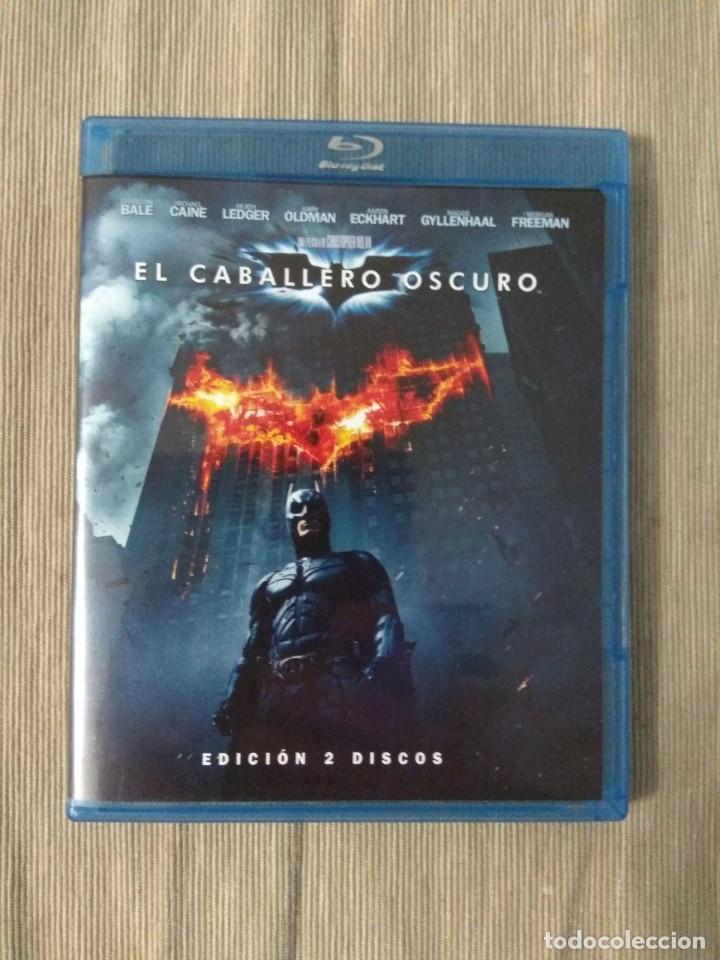 ENVIO INCLUIDO // BLU RAY EL CABALLERO OSCURO. 2 DISCOS. (Cine - Películas - Blu-Ray Disc)