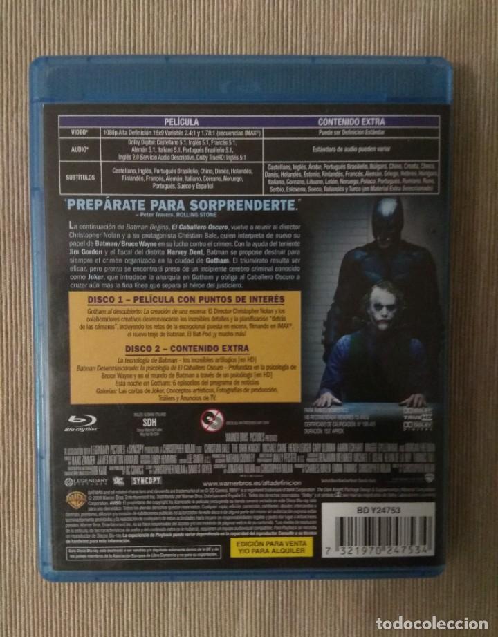 Cine: Envio incluido // Blu ray El caballero oscuro. 2 discos. - Foto 2 - 198597862