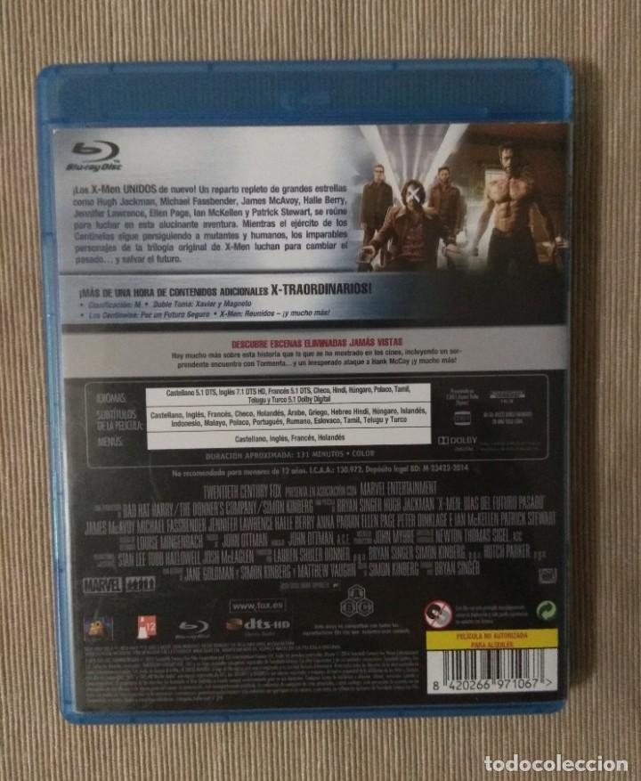 Cine: Envio incluido // Blu ray X men dias del futuro pasado. - Foto 2 - 198598515