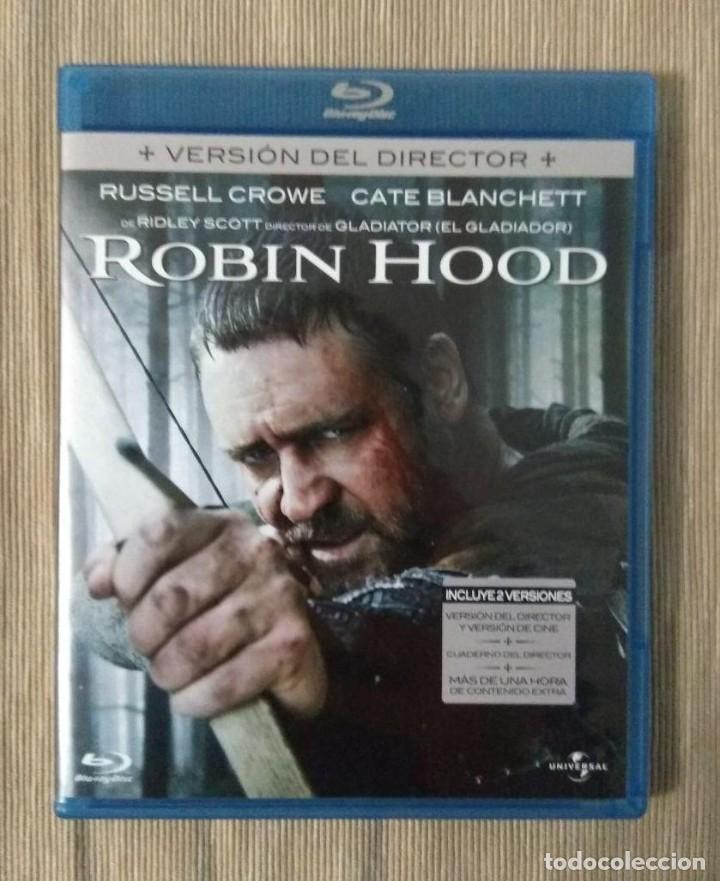 ENVIO INCLUIDO // BLU RAY ROBIN HOOD. 2 DISCOS. (Cine - Películas - Blu-Ray Disc)