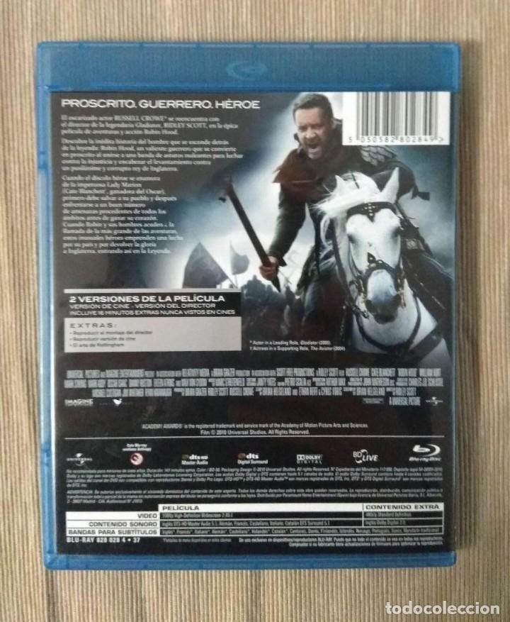 Cine: Envio incluido // Blu ray Robin Hood. 2 discos. - Foto 2 - 198599467