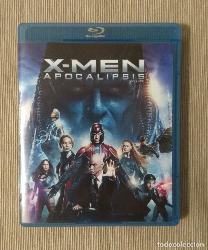 ENVIO INCLUIDO // BLU RAY X MEN APOCALIPSIS. (Cine - Películas - Blu-Ray Disc)