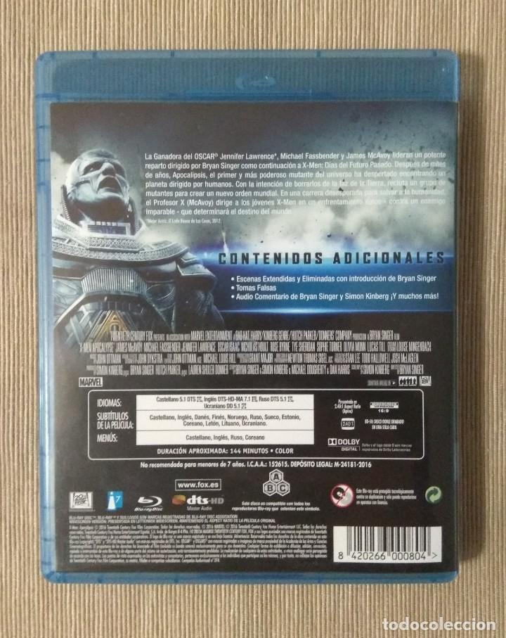 Cine: Envio incluido // Blu ray X men apocalipsis. - Foto 2 - 198599765