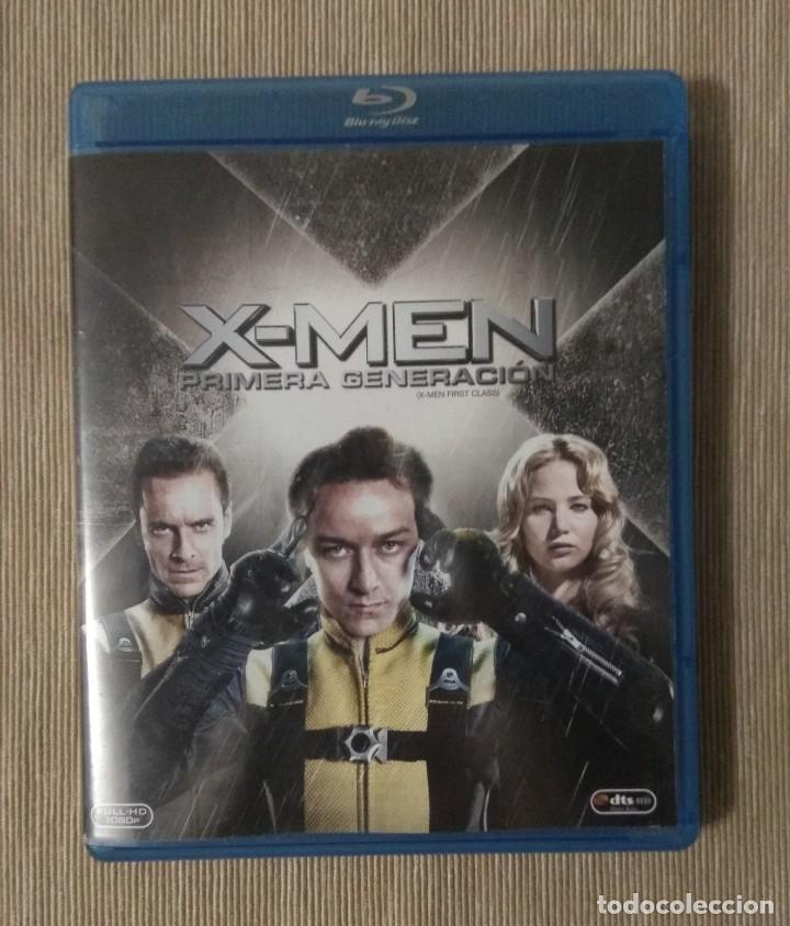 ENVIO INCLUIDO // BLU RAY X MEN PRIMERA GENERACION. (Cine - Películas - Blu-Ray Disc)