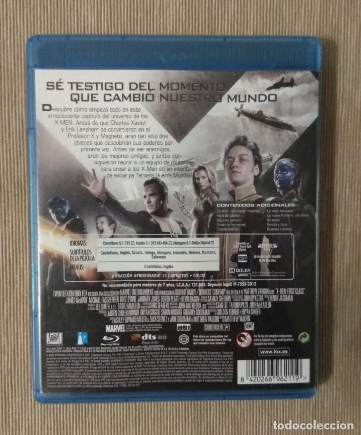 Cine: Envio incluido // Blu ray X men primera generacion. - Foto 2 - 198600072