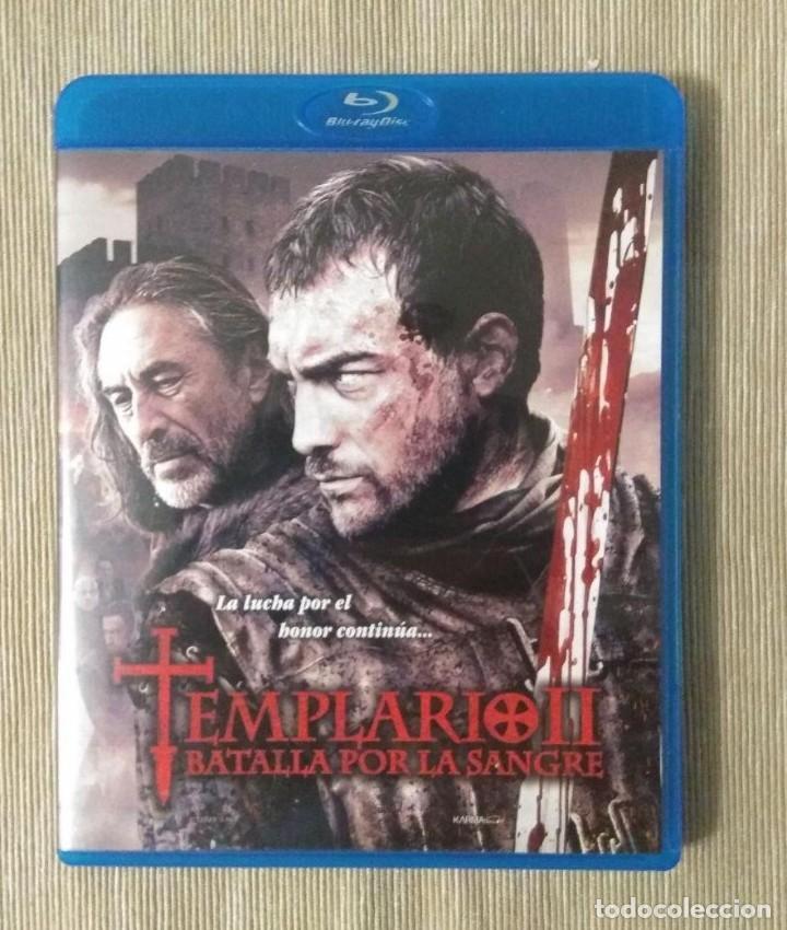 ENVIO INCLUIDO // BLU RAY TEMPLARIO II (2) BATALLA POR LA SANGRE. (Cine - Películas - Blu-Ray Disc)