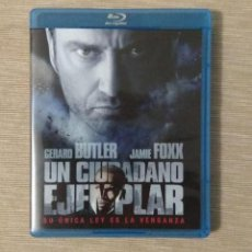 Cine: ENVIO INCLUIDO // BLU RAY UN CIUDADANO EJEMPLAR. 2 DISCOS.. Lote 198600447