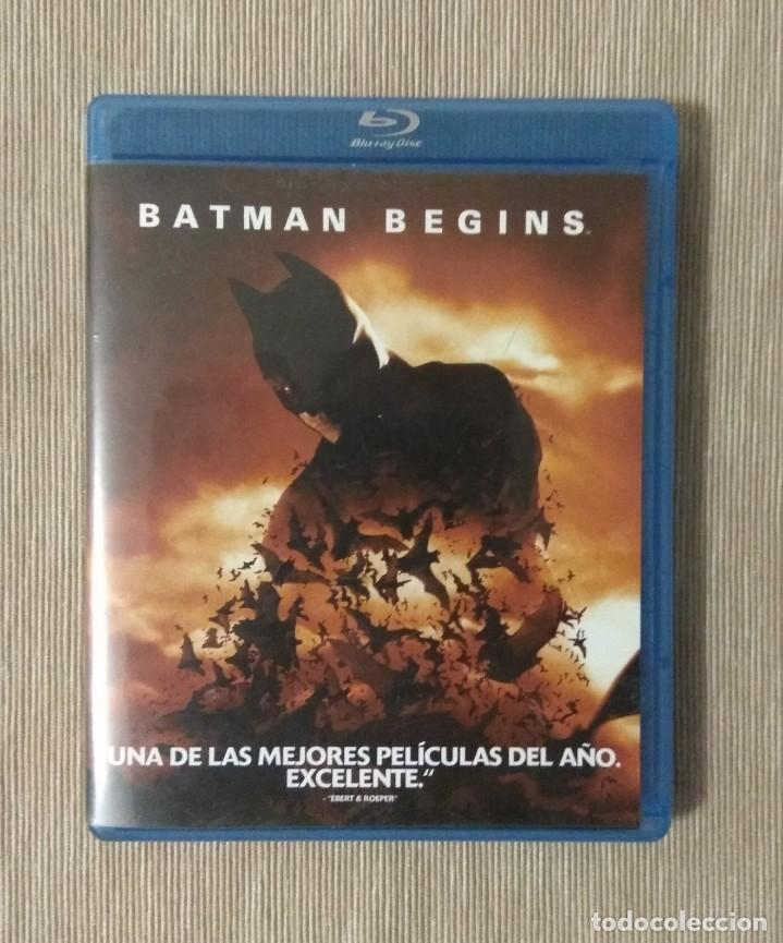 ENVIO INCLUIDO // BLU RAY BATMAN BEGINS. (Cine - Películas - Blu-Ray Disc)