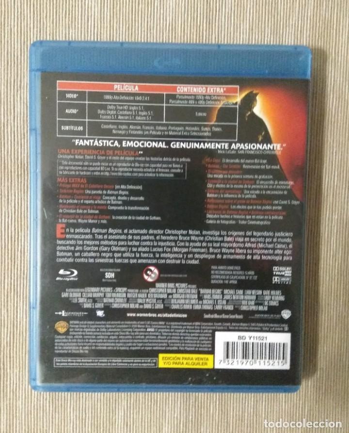 Cine: Envio incluido // Blu ray Batman begins. - Foto 2 - 198600565