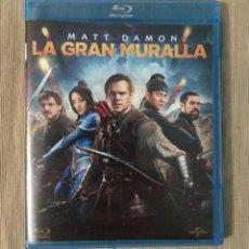 Cine: ENVIO INCLUIDO // BLU RAY LA GRAN MURALLA.. Lote 198615473