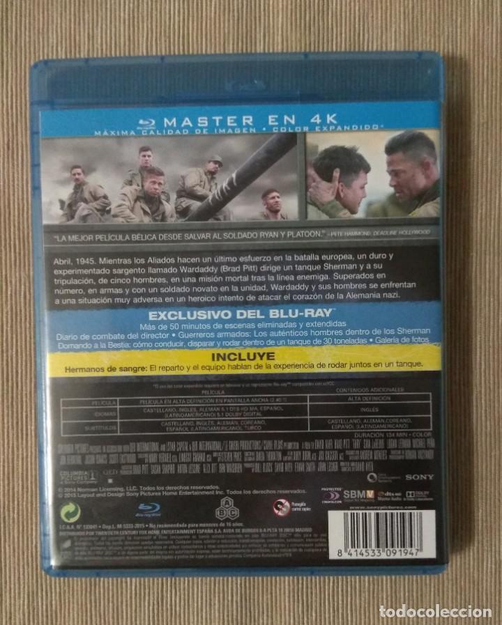 Cine: Envio incluido // Blu ray Corazones de acero. - Foto 2 - 198615651