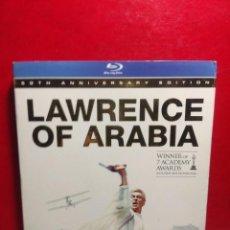 Cine: BLU-RAY LAURENCE DE ARABIA ( AUDIOS EN INGLES Y ESPAÑOL ) EDICION 50 ANIVERSARIO. Lote 199156852