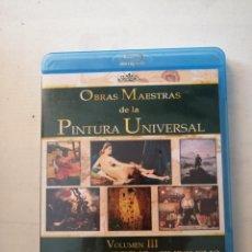 Cine: OBRAS MAESTRAS DE LA PINTURA UNIVERSAL.VOLUMEN III DE EL NEOCLASICISMO AL SIMBOLISMO.. Lote 199332118