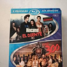 Cine: 2 PELICULAS BLU-RAY HÍNCAME EL DIENTE VERSIÓN EXTENDIDA (COMBO BLU-RAY+ DVD) Y CASI 300.. Lote 199336918