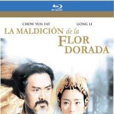 Cine: LA MALDICIÓN DE LA FLOR DORADA BLU RAY (CHOW YUN FAT). UN SOLO VISIONADO. PERFECTO ESTADO. Lote 199355722