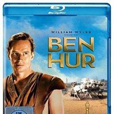 Cine: BEN-HUR (1959) EDICIÓN ALEMANA DE 2 DISCOS, IDÉNTICA A LA ESPAÑOLA.. Lote 199484386