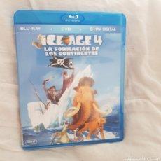 Cine: (BRS10) ICE AGE 4 LA FORMACIÓN DE LOS CONTINENTES - BLURAY SEGUNDAMANO. Lote 199484838