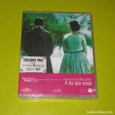 Cine: A LOS QUE AMAN (BLU-RAY + DVD + LIBRO 32 PAGS) - EXCLUSIVA FNAC - PRECINTADA. Lote 199890926