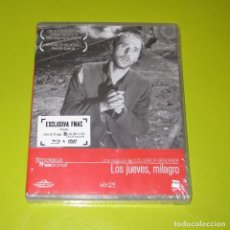 Cine: LOS JUEVES MILAGRO (BLU-RAY + DVD + LIBRO 32 PAGS) - EXCLUSIVA FNAC - PRECINTADA. Lote 199890990
