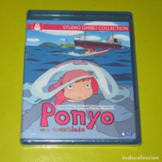 Cine: BLU-RAY.- PONYO EN EL ACANTILADO - HAYAO MIYAZAKI - STUDIO GHIBLI - PRECINTADA. Lote 199891028