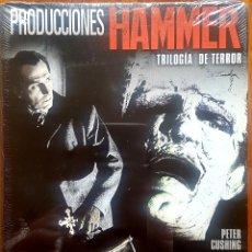 Cine: PRODUCCIONES HAMMER TRILOGÍA DE TERROR(LAS NOVIAS DE DRÁCULA,EL BESO DEL VAMPIRO,LA MALDAD DE FRANKE. Lote 200514778