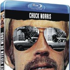 Cinema: LOS VALIENTES VISTEN DE NEGRO (CHUCK NORRIS) - BLURAY NUEVO Y PRECINTADO. Lote 200651027