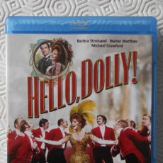 Cine: HELLO, DOLLY! BLURAY DE LA PELICULA DE GENE KELLY. CON BARBRA STREISAND, WALTER MATTHAU Y MICHAEL CR. Lote 201224307