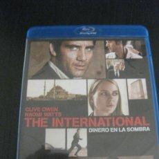 Cine: THE INTERNATIONAL. DINERO EN LA SOMBRA. CLIVE OWEN. NAOMI WATTS. BLU-RAY DISC.. Lote 202388718