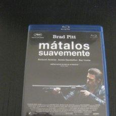 Cine: MATALOS SUAVEMENTE. BRAD PITT. BLU-RAY DISC. Lote 202390556