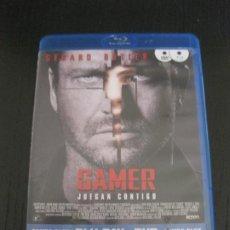 Cine: GAMER. JUEGAN CONTIGO. DVD + BLU-RAY DISC. CON EXTRAS.. Lote 202390678