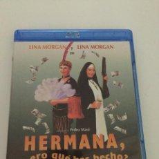 Cine: HERMANA PERO QUE HAS HECHO LINA MORGAN BLU RAY NUEVO. . Lote 202428970