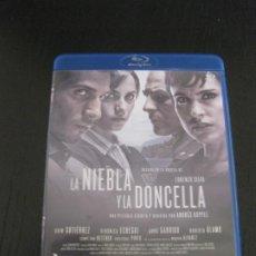 Cine: LA NIEBLA Y LA DONCELLA. BASADA EN LA NOVELA DE LORENZO SILVA. BLU-RAY DISC. . Lote 202443197