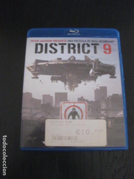 DISTRICT 9. BLU-RAY DISC. (Cine - Películas - Blu-Ray Disc)
