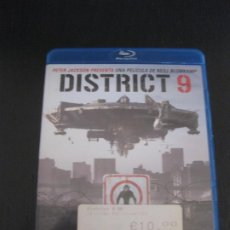 Cine: DISTRICT 9. BLU-RAY DISC.. Lote 202447792