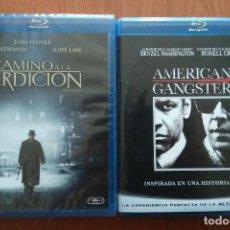 Cine: ENVIO INCLUIDO // LOTE BLU RAY: CAMINO A LA PERDICION Y AMERICAN GANGSTER. Lote 202703260