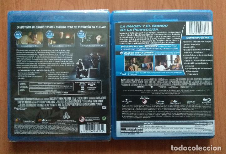 Cine: Envio incluido // Lote Blu ray: Camino a la perdicion y American Gangster - Foto 2 - 202703260