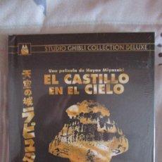 Cine: EL CASTILLO EN EL CIELO EDICION GHIBLI COLLECTION DELUXE DIGIBOOK BLURAY + DVD MIYAZAKI ANIME MANGA. Lote 174142848