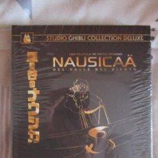 Cine: NAUSICAA DEL VALLE DEL VIENTO EDICION GHIBLI COLLECTION DELUXE DIGIBOOK BLURAY + DVD MIYAZAKI ANIME. Lote 202722247