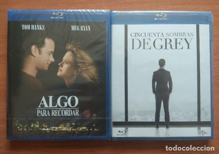 ENVIO INCLUIDO // LOTE BLU RAY: ALGO PARA RECORDAR Y CINCUENTA (50) SOMBRAS DE GREY (Cine - Películas - Blu-Ray Disc)