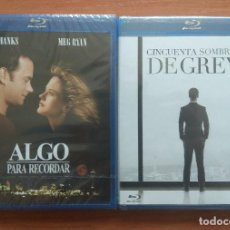 Cine: ENVIO INCLUIDO // LOTE BLU RAY: ALGO PARA RECORDAR Y CINCUENTA (50) SOMBRAS DE GREY. Lote 202841886